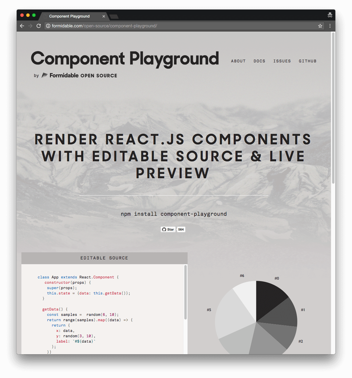 Formidable Component Playground